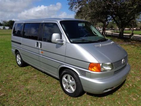 Florida Volkswagen Dealers by Buy Used Florida 03 Vw Eurovan Mv Multi Dealer