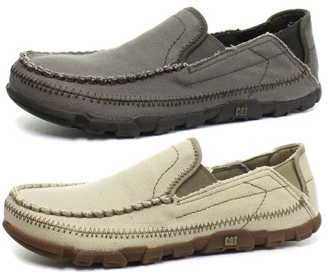 oxford slip on shoes new caterpillar kiefer mens oxford slip on shoes all sizes
