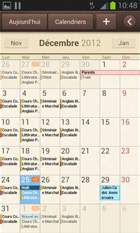 S Calendrier Android Test Samsung Galaxy S3 Mini Page 5 Lesmobiles