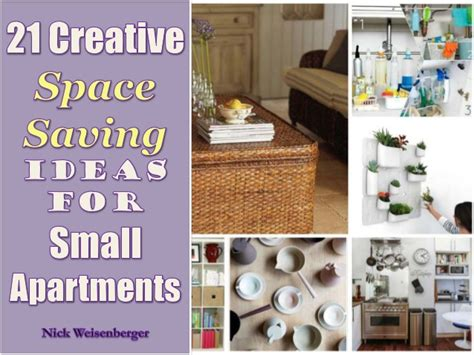space saving ideas for small apartments 21 creative space saving ideas for small apartments