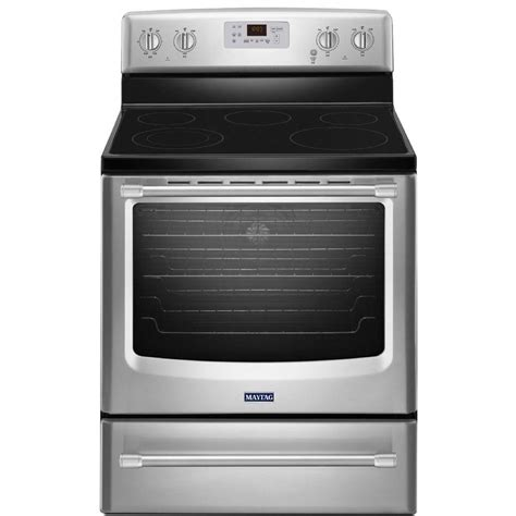 maytag aqualift 6 2 cu ft electric range with self