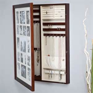 Wall Mount Jewelry Box Picture Frame 5 Awesome Storage Solutions To Keep Your Jewelry Safe