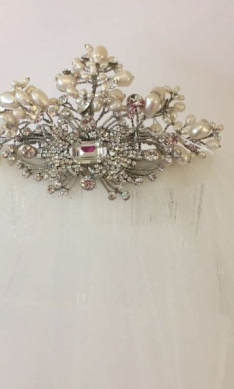 Wedding Accessories San Francisco by New Connection Bridal Tiara Hair Accessory 150