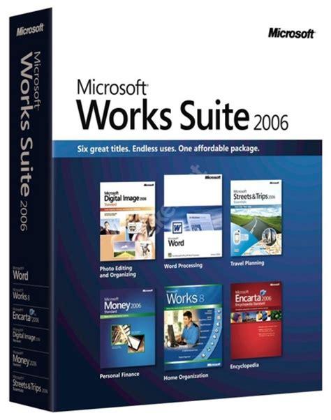 Microsoft Sweet Microsoft Works Suite 2006 Pocket Lint