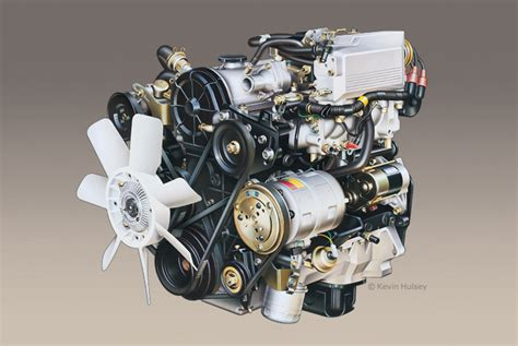 car motors car engine cutaway stock illustrations