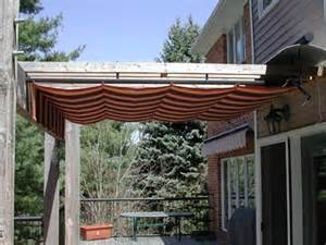Retractable pergola cover 10