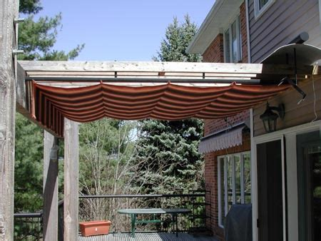 Retractable Pergola Cover 10 Pergola Coverings For