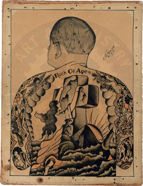tattoo flash from the bowery flash art by tattoo artist ed smith who worked on the