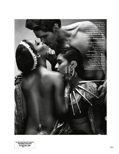 Vogue Indias Issue by Bronze Age By Tarun Vishwa For Vogue India November 2014