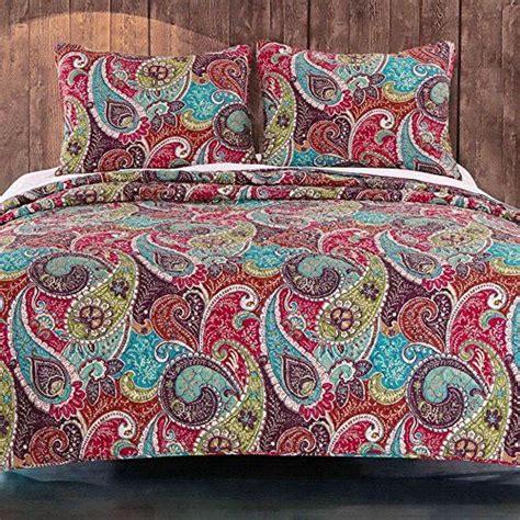 paisley print bedding vintage retro paisley pattern print bedding multicolor