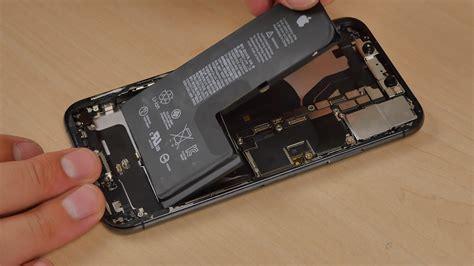 iphone xs teardown hits  web shows single cell