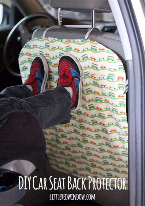 car seat back protector 30 insanely cool diy ideas for your car diy