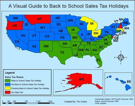 a visual guide to back to school sales tax holidays thomson reuters tax accounting