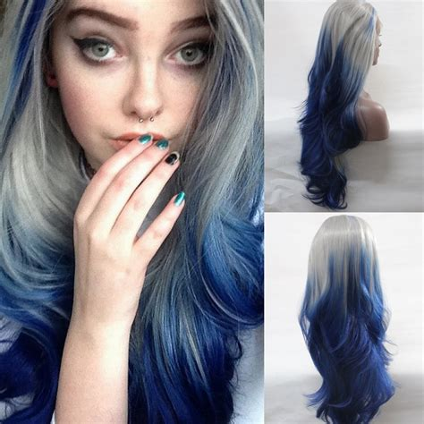 silver blue long hair pictures photos and images for facebook blue grey ombre hair www pixshark com images galleries