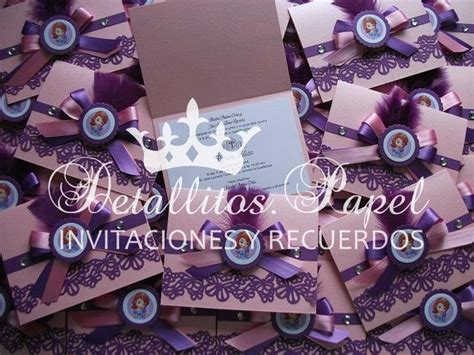 Pita Handmade Princess Sofia 25 best ideas about princess sofia invitations on the birthday