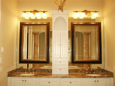 hanging bathroom mirrors with frame fascinating 90 hanging framed bathroom mirrors design