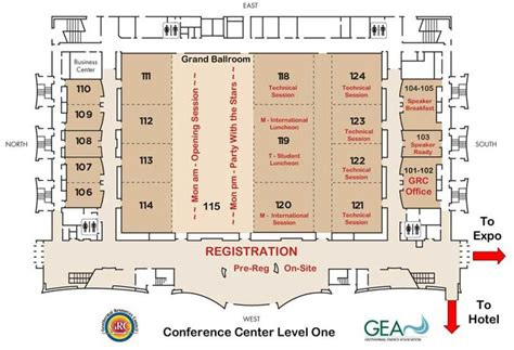 mgm floor plan mgm grand conference center floor plan conference center