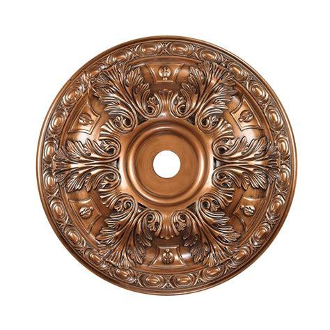 elk lighting pennington antique bronze ceiling medallion