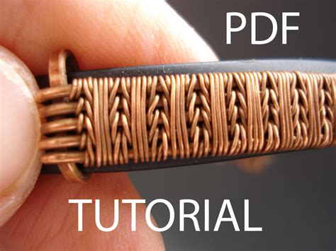 how to make wire weave jewelry tutorial wire weaving pdf tutorial jewelry tutorial wire