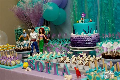 The little mermaid birthday party ideas photo 4 of 15 catch my party