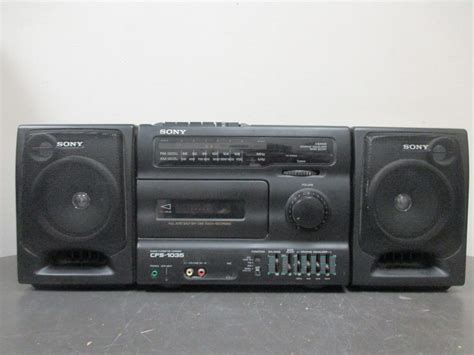radio cassette recorder sony cfs 1035 radio cassette recorder for and 50 similar items