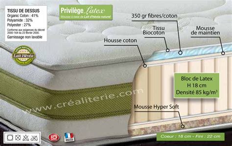 matelas biotex 160x200 privil 232 ge v 233 g 233 tale naturel