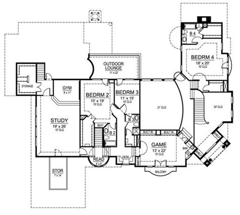 hambright plan 3495 edg plan collection featured house plan pbh 4520 professional builder