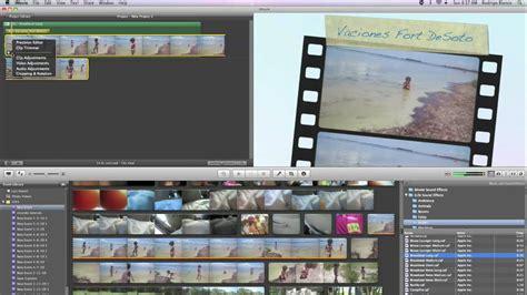 tutorial on imovie 09 tutorial mac espa 241 ol usa el imovie 09 para publicar