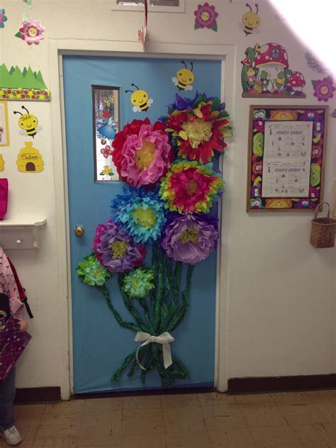 door decorations for spring spring classroom door classroom doors pinterest