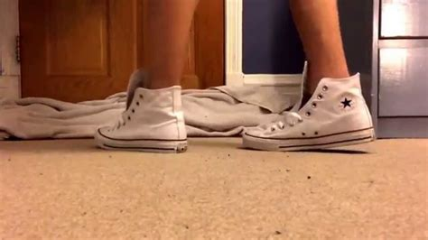 how to bar lace converse high tops converse high top shoeplay bar laced youtube