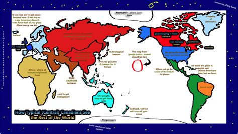 map world according to the world according to canada and geocurrents