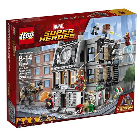 More Pictures On The Set Of And The City by Lego Marvel Heroes Infinity War Sets Now