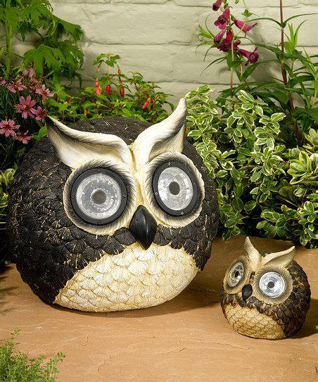 Owl Garden Decor Pinterest