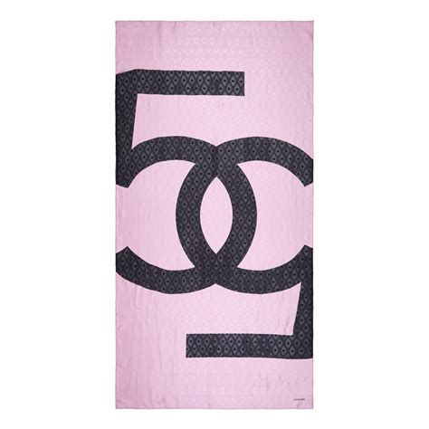 chanel bubblegum pink silk scarf for sale at 1stdibs