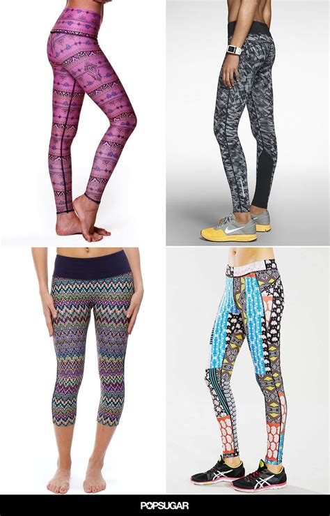 patterned workout leggings 71 best images about workout clothes on pinterest