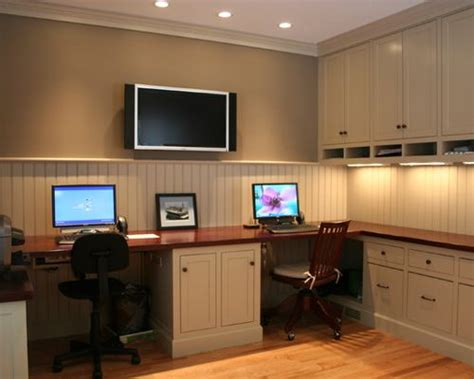 dual office space home design ideas pictures remodel and