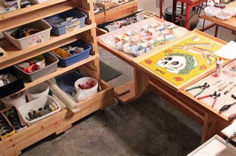 how to make an art studio in your bedroom how to make a home mosaic art studio how to mosaic
