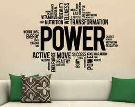 Home Gym Wall Decor by Wall Decal The Best Motivational Wall Decals For Gym Home