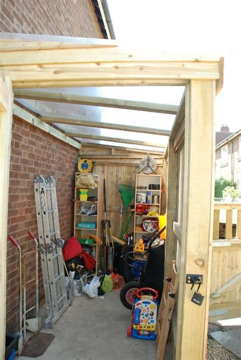image result  lean  conservatory side garage