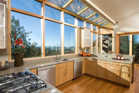 Kitchen Sink Window Ideas 52 Beautiful Kitchens With Skylights Pictures