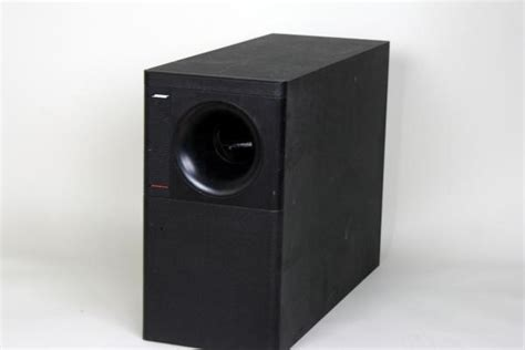 bose acoustimass  home theater speaker surround system