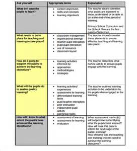 exle of lesson plan template 18 lesson plan templates free sle exle