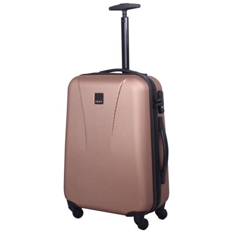 cabin luggage suitcase tripp gold lite 4 wheel cabin suitcase
