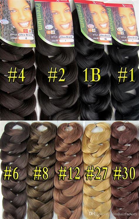 kanekalon x pression jumbo braid hair uma cor r 18 00 new arrive 1pclot mixed color expression ultra braid