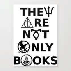 only the books they are not only books canvas print by phantastique