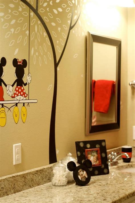 mickey bathroom disney bathroom ideas