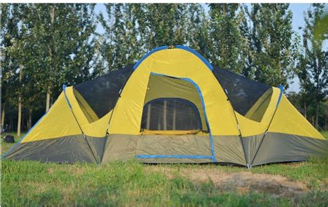 Outdoor Living Room Tent Two Bedrooms One Living Room 8 10 Person Big Tent Anti
