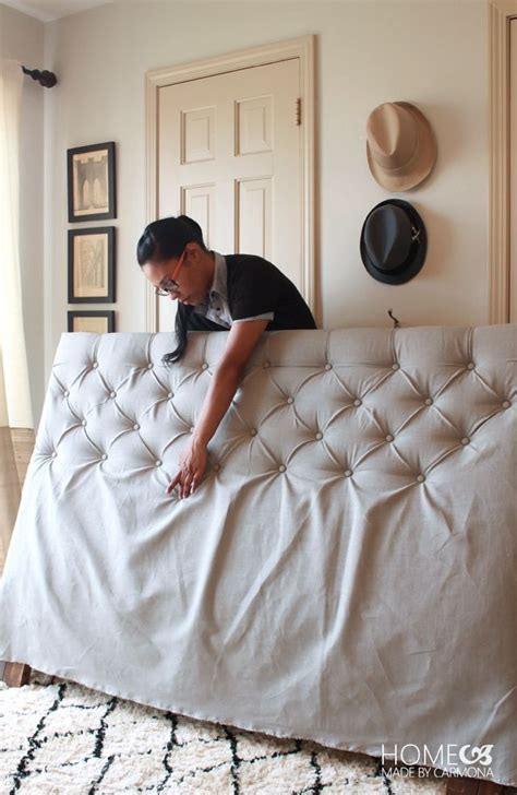 make a tufted headboard decorar cabezales de cama api cat