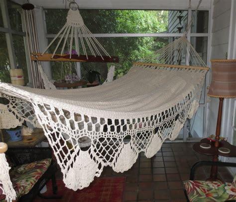 most comfortable hammocks customer reviews quot playa quot bar hammock hamaca crochet borders