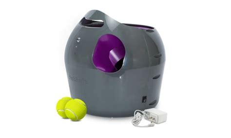 automatic tennis launcher for dogs automatic tennis launcher for dogs by petsafe groupon